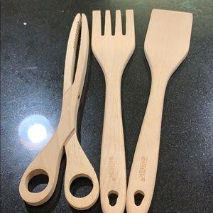 Wooden Cooking Utensils Set of 3
